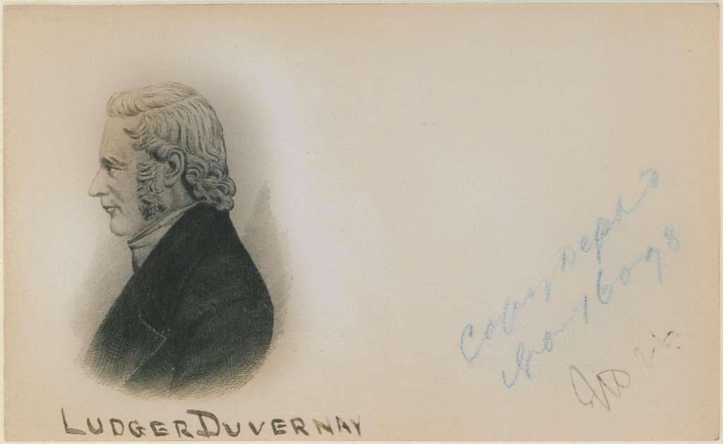 Ludger Duvernay No 26 (HS85-10-16078)