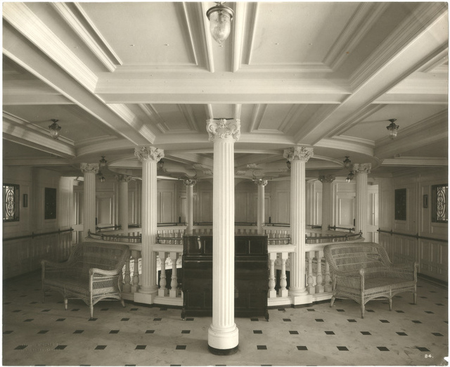 [Second class entrance, Lusitania]