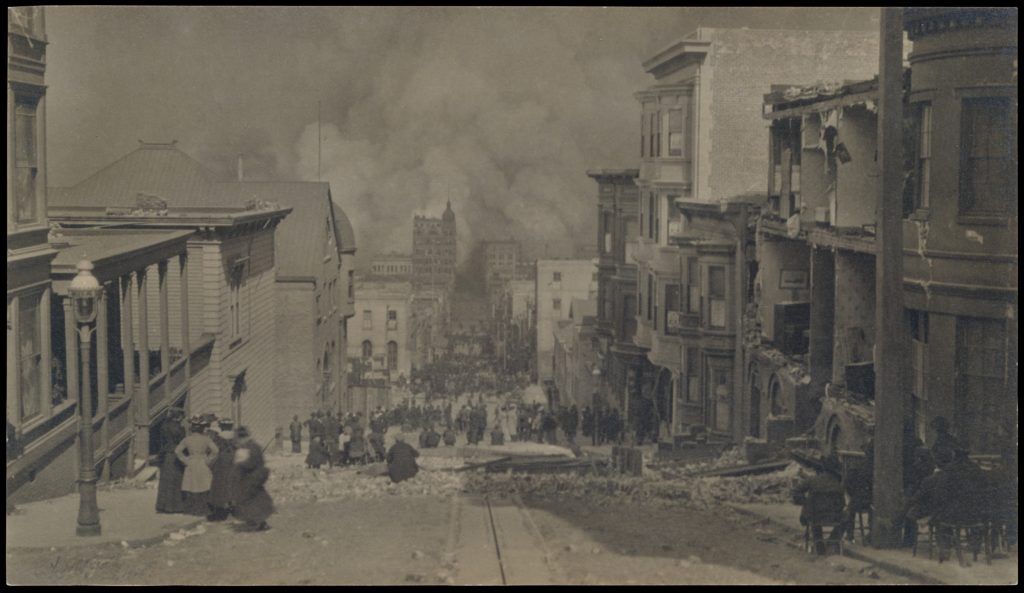 After the Earthquake, San Francisco