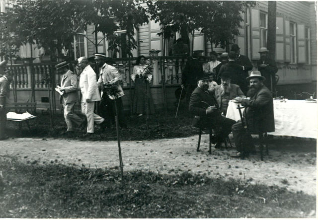 First Duma gathered in Terioks, 1906
