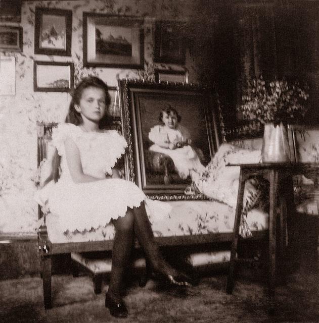 Grand Duchess Olga Nicholaevna .1906.