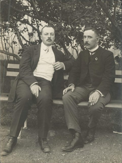Members of the First State Duma Nabokov and Aladin.