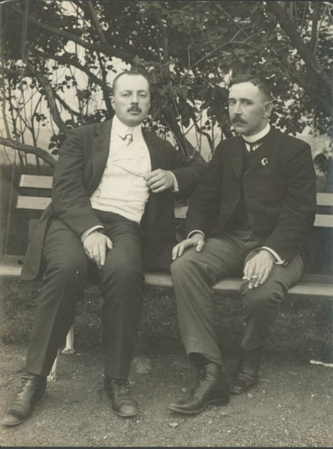 Members of the First State Duma VD Nabokov and AF Aladin.