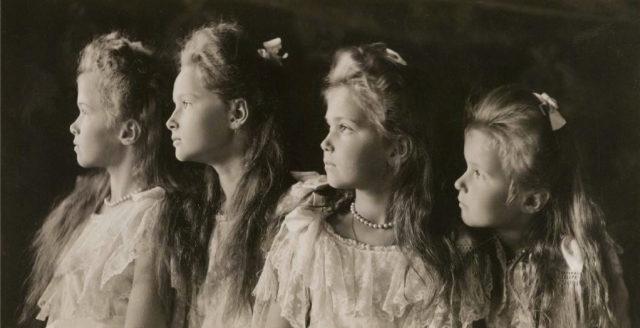 Olga, Tatiana, Maria, Anastasia, 1906