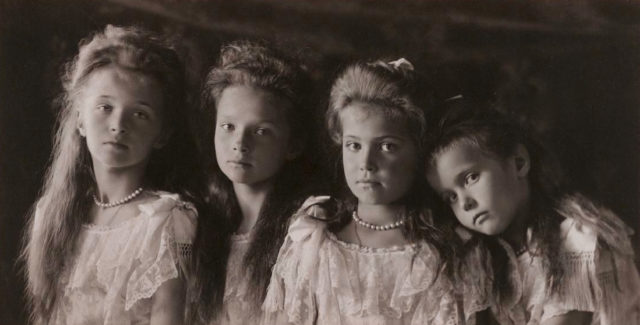 Olga, Tatiana, Maria, Anastasia - OTMA 1906.
