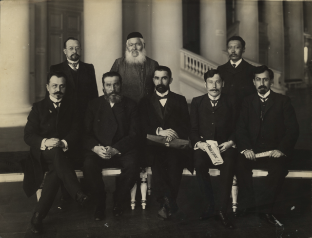 Deputies of the First State Duma in Duma building