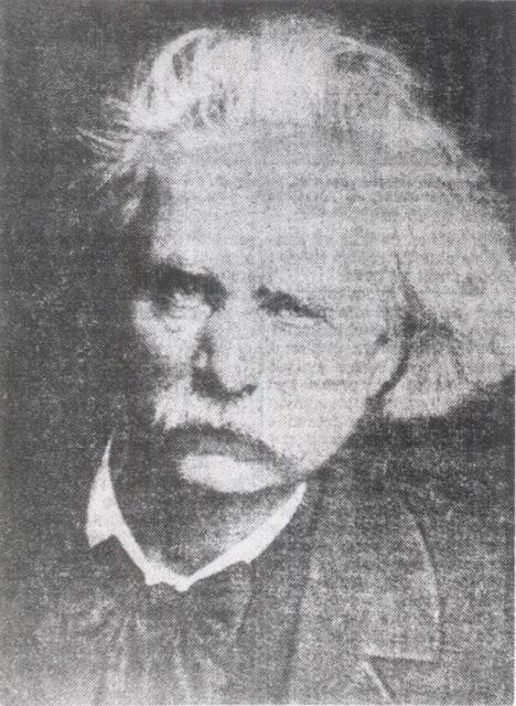 Edvard Grieg portrait