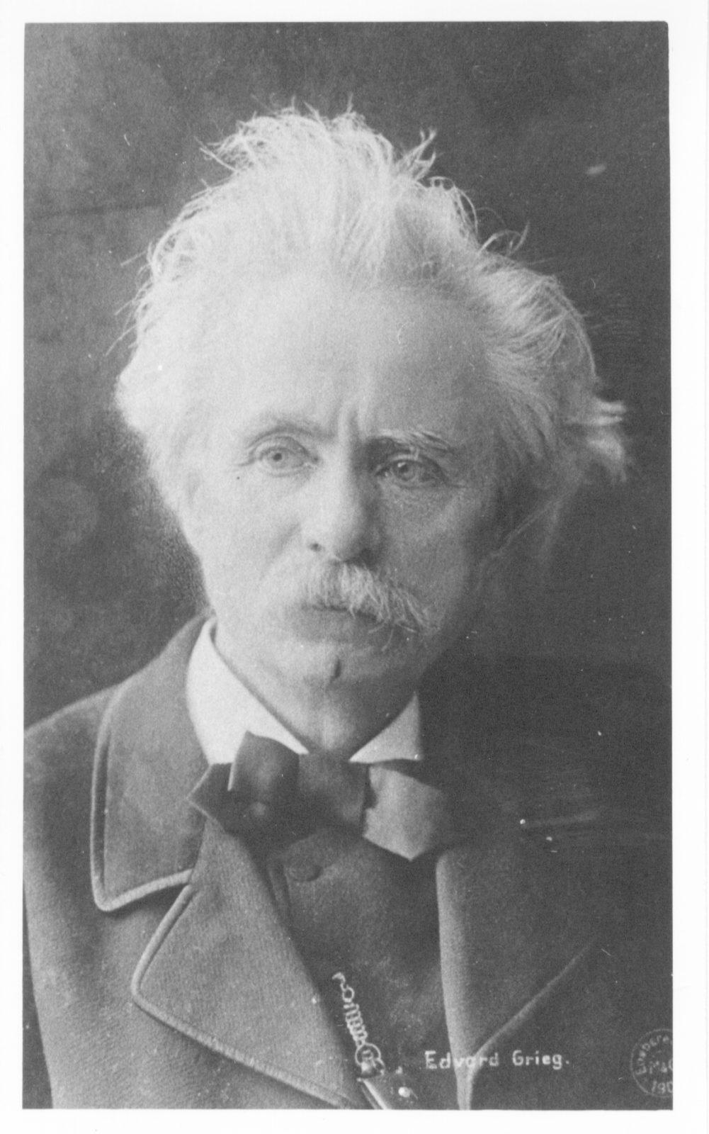 Edward Grieg portrait
