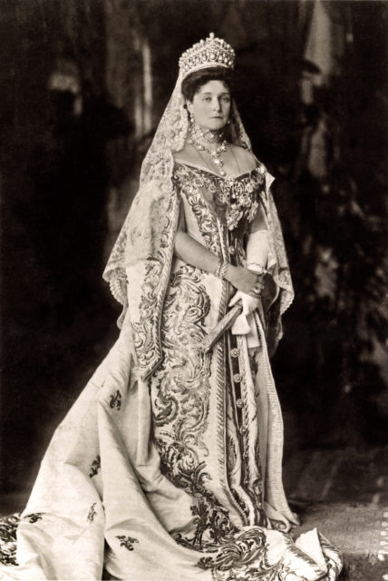 Empress Alexandra Feodorovna 1907