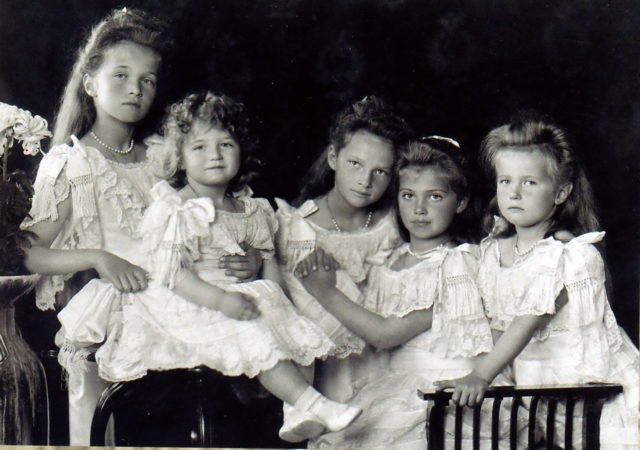 Grand Duchesses Olga, Tatiana, Maria, Anastasia...