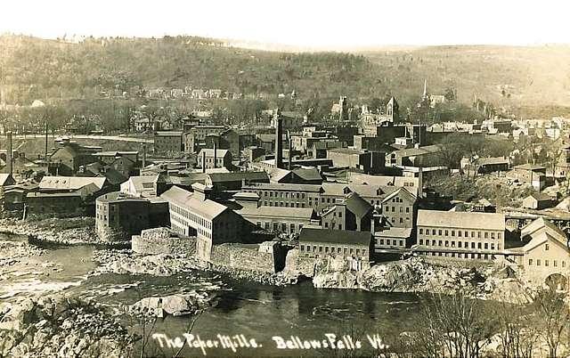 Paper Mills, Bellows Falls, VT