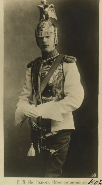 Prince Ioann Konstantinovich - Children of the Grand Duke Constantine Romanov