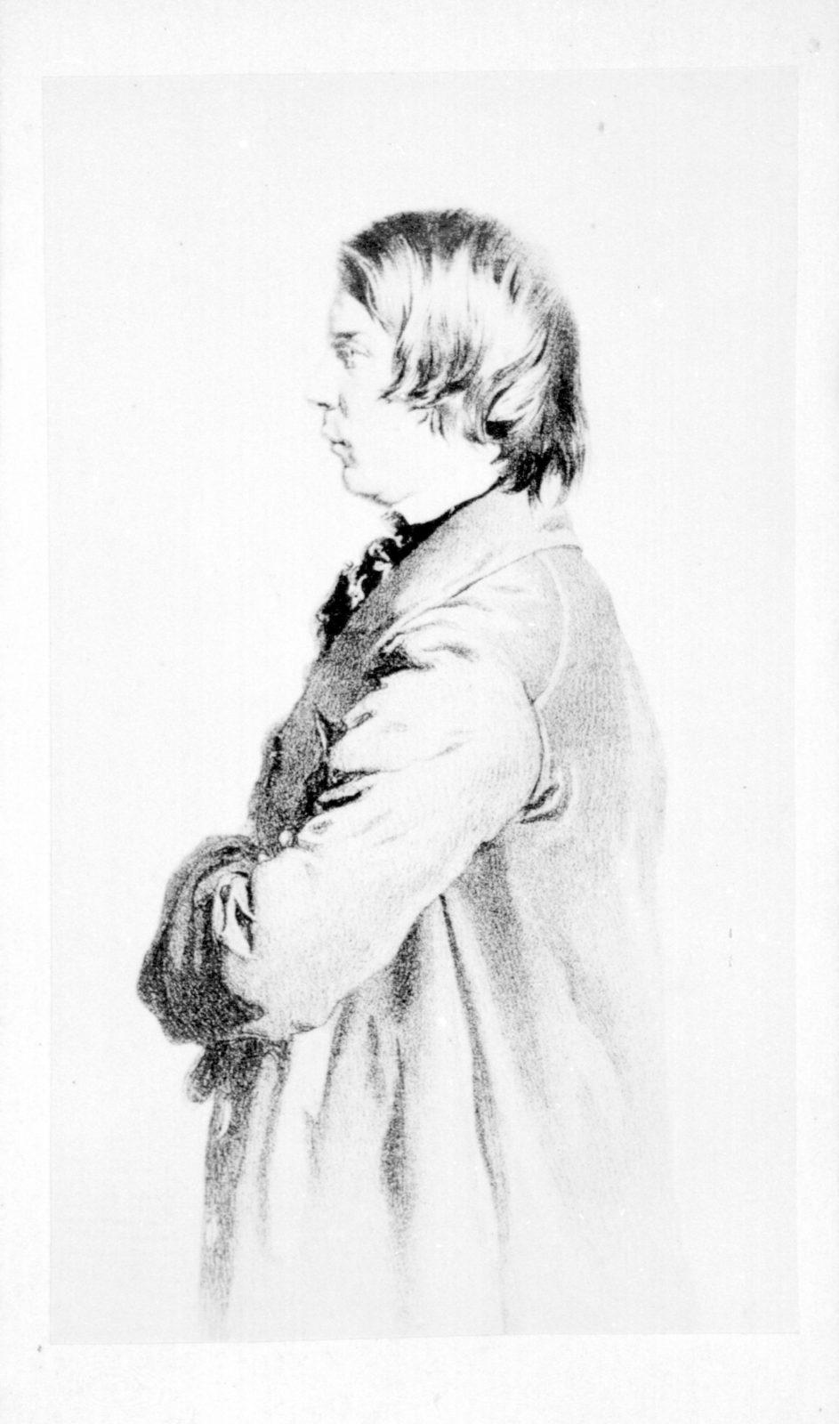 Robert Schumann portrait