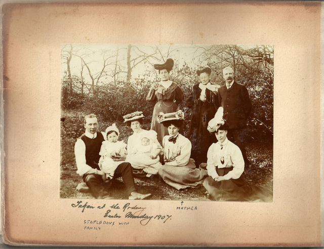 The Stapleton Family, at the Rodney, Easter Monday 1907