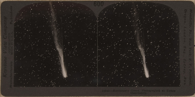 16645 - Morehouse's Comet, Photographed at Yerkes Observatory