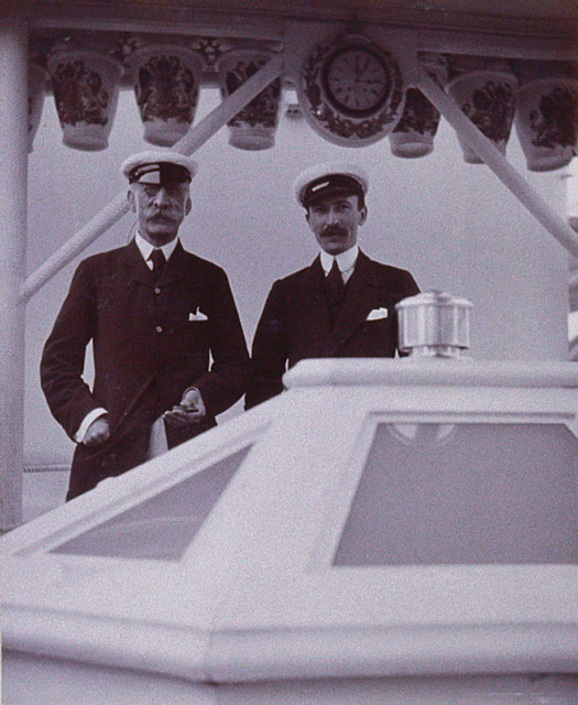 Count Alexander Benckendorff and Earl Rowland Thomas Baring