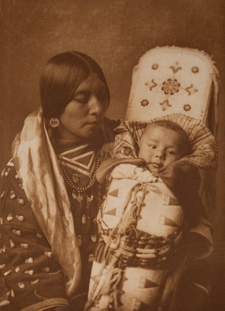 Mother and Child - Apsaroke