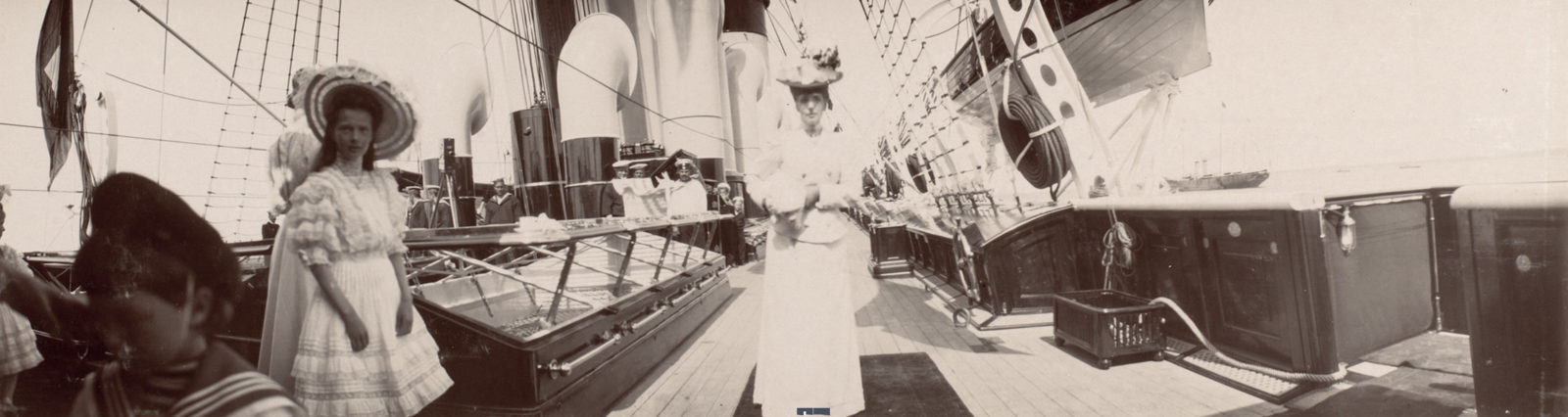 On board of Imperial Yacht Standart  June 1908