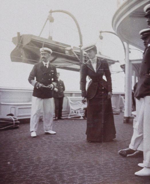 "Princess Victoria. ""Yacht Victoria and Albert""."
