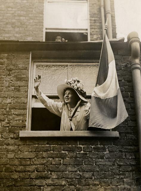 Christabel Pankhurst, 1909.