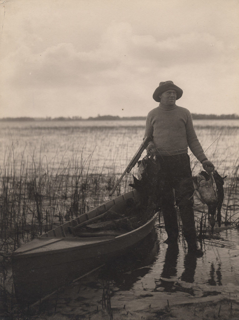 Duck hunting, 1909