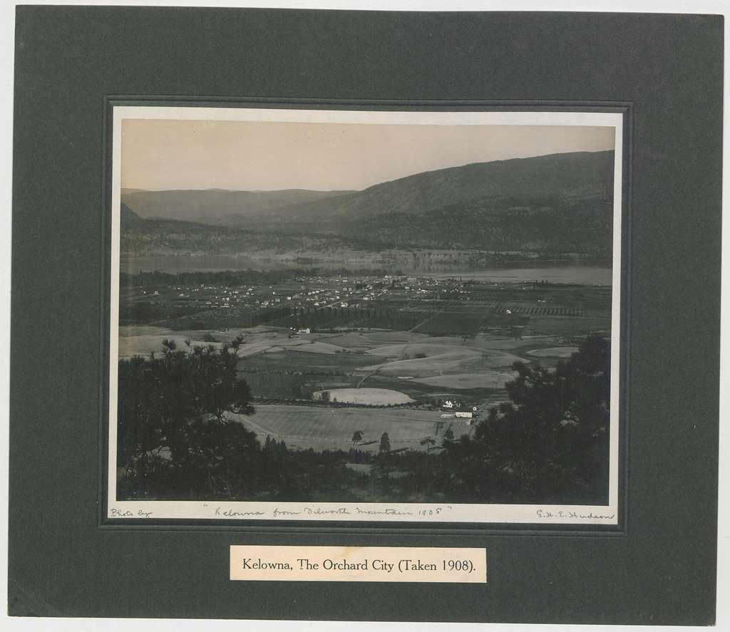 Kelowna, the Orchard City, 1908 (HS85-10-20690) original