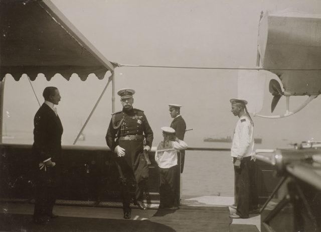 King Edward VII  meets Nicholas II
