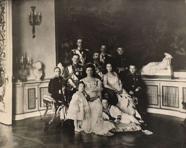 The silver jubilee of Grand Duke Konstantin Konstantinovich and Grand Duchess Elizabeth Mavrikievna.