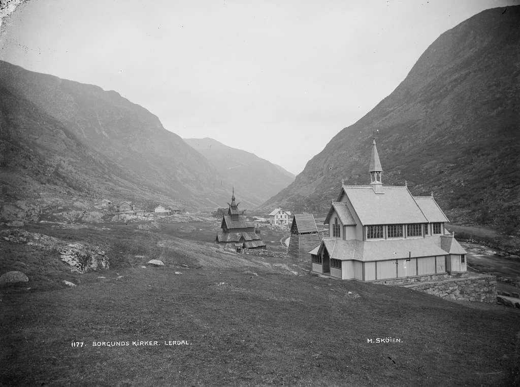Borgunds kirker Lerdal - NB MS G3 0049
