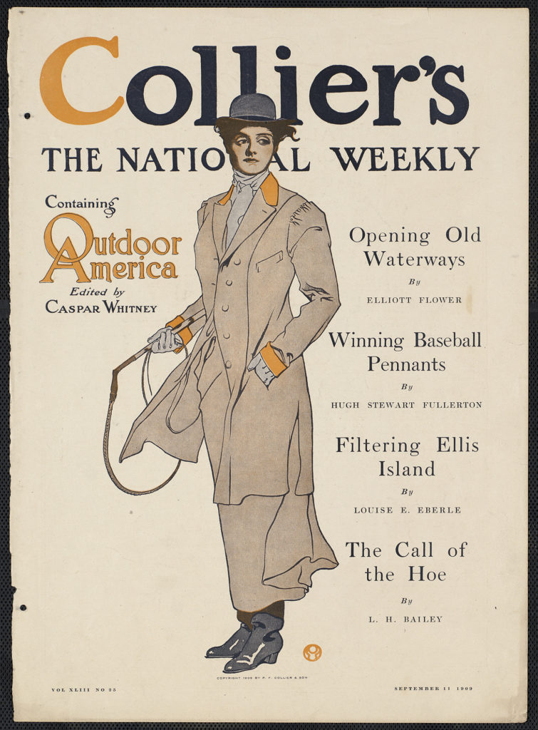 Collier's, the national weekly, containing Outdoor America