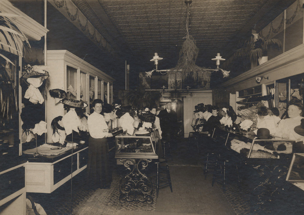 Collinson's Millinery Store, date unknown