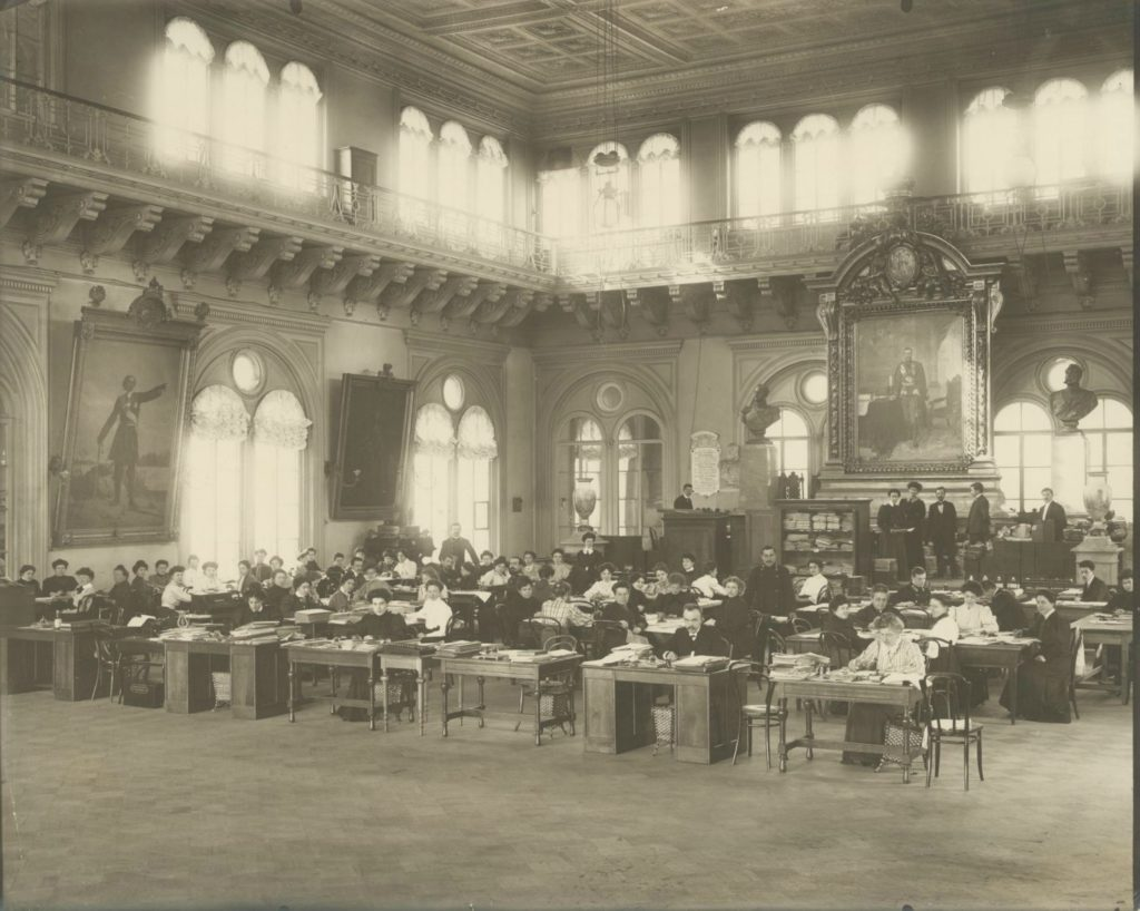 Counting commission for the election of deputies of the State Duma. 1910's.