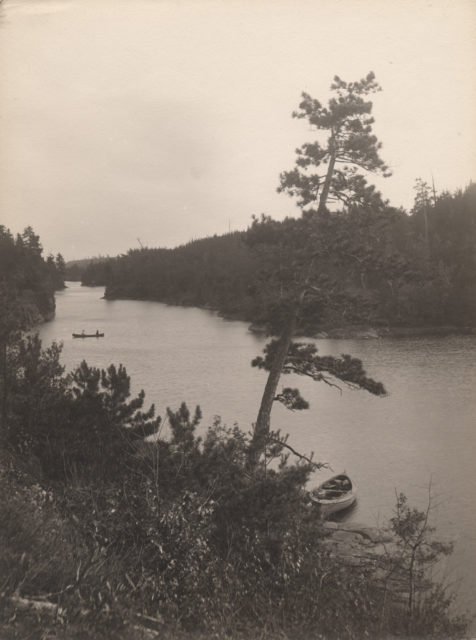 Dry Pine Bay, French River, 1910