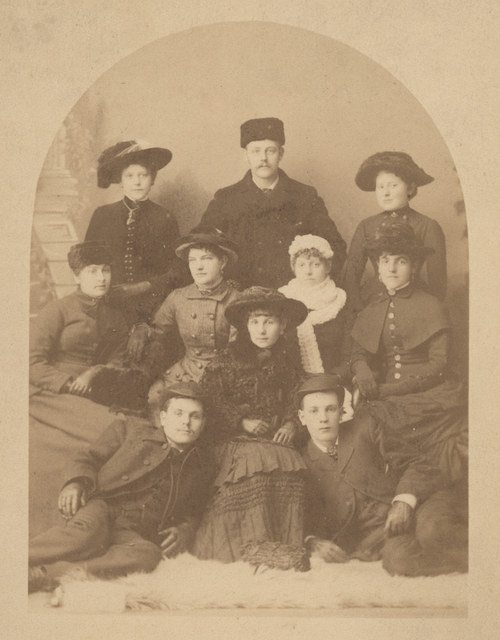 Family portrait, date unknown
