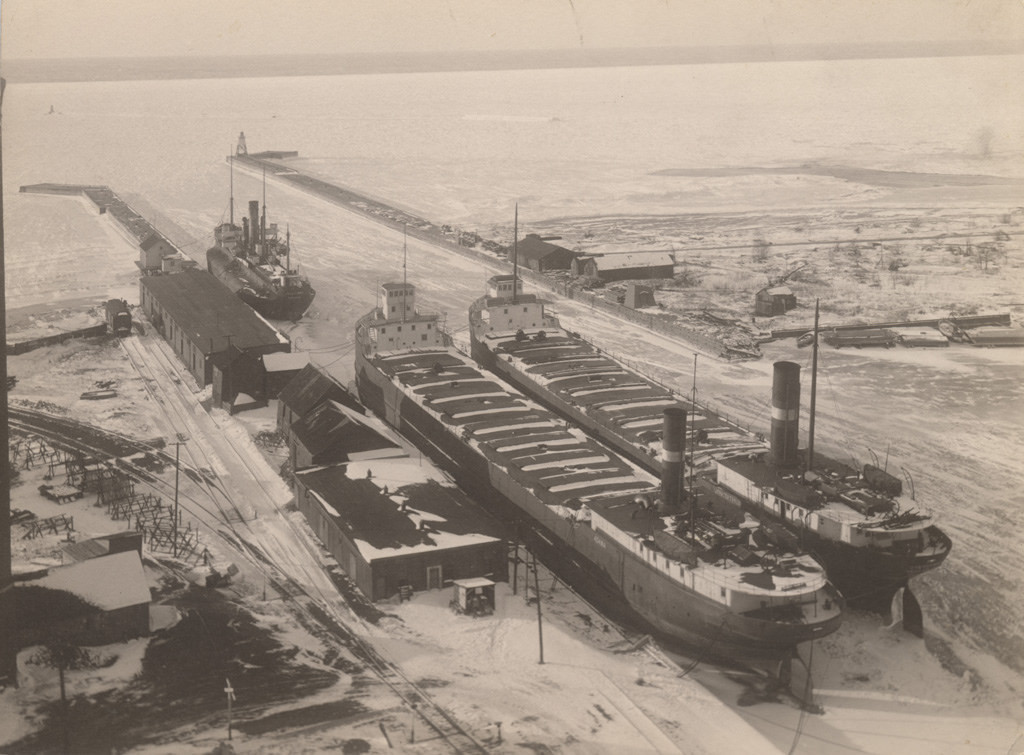 Goderich Harbour, 1924