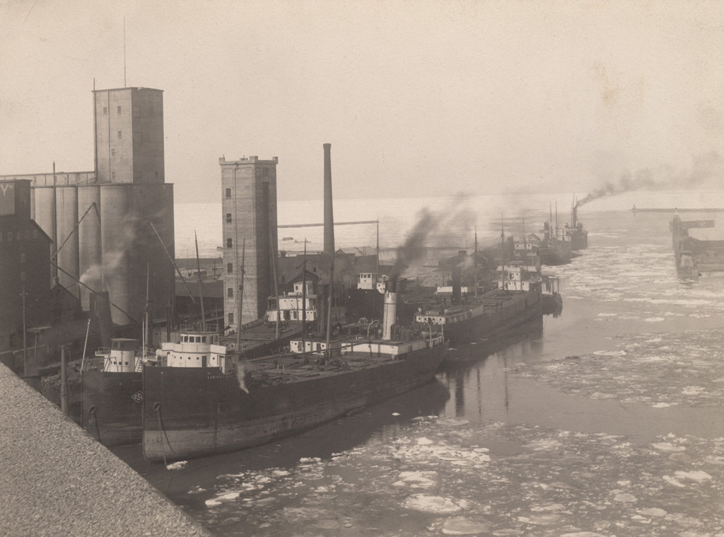Goderich Harbour, date unknown