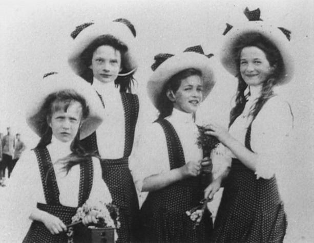 Grand duchesses Olga,Tatiana, Maria, Anastasia
