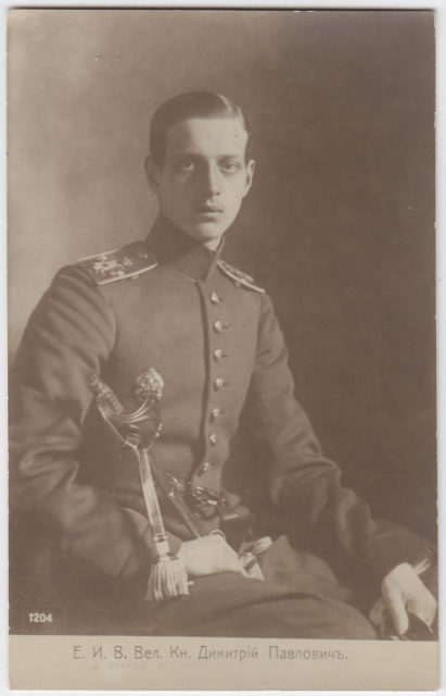 Grand duke DIMITRI PAVLOVICH