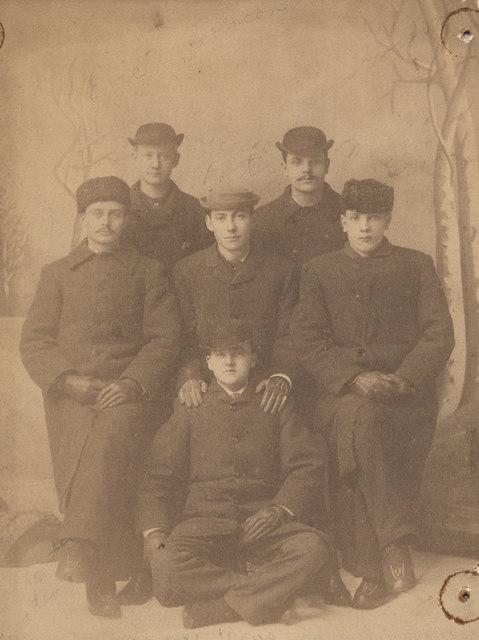 Group portrait, 1883