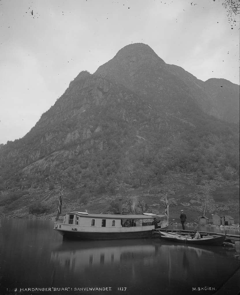 Hardanger, Buar i Sanvenvandet - NB MS G3 0084 (cropped)
