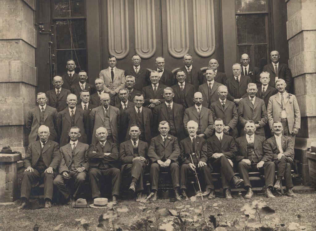 Совет графства Гурон, 1922 год
