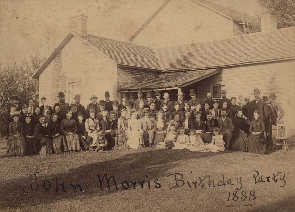 John Morris Birthday Party, 1888
