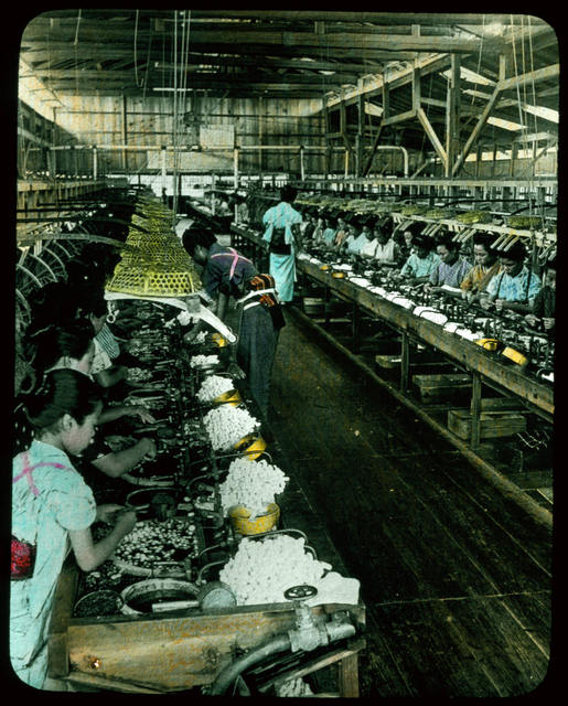 Large Silk Factory