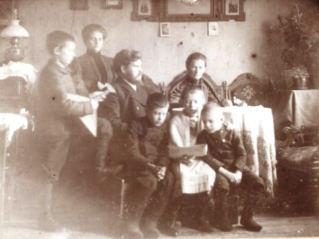 Murom. Events and people. The Tagunov family. 1910's.