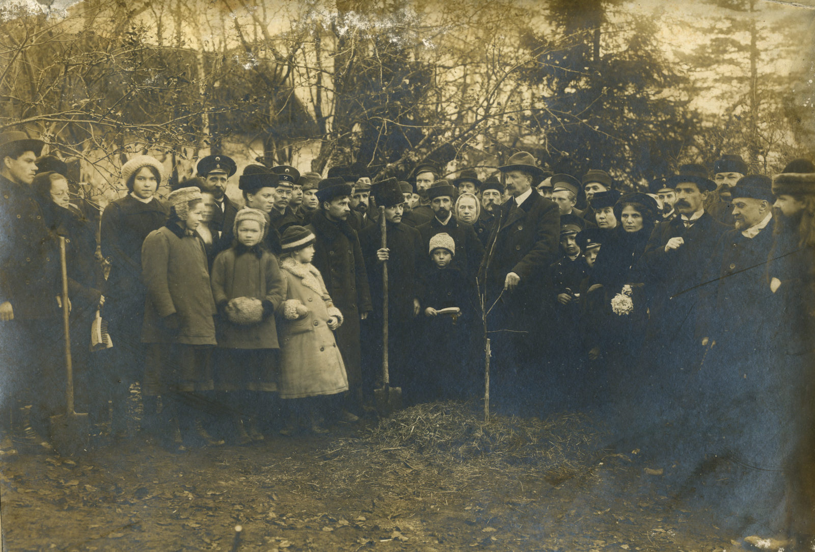 Murom, Planting trees city public. 1900-1910.