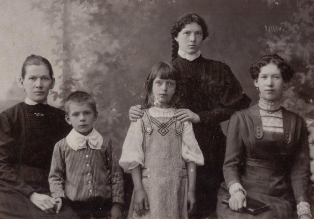 Murom, The Tagunov family. 1910.