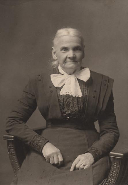 Portrait of Aunt Charlotte, date unknown