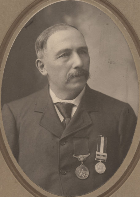 Portrait of Captain William Babb, date unknown