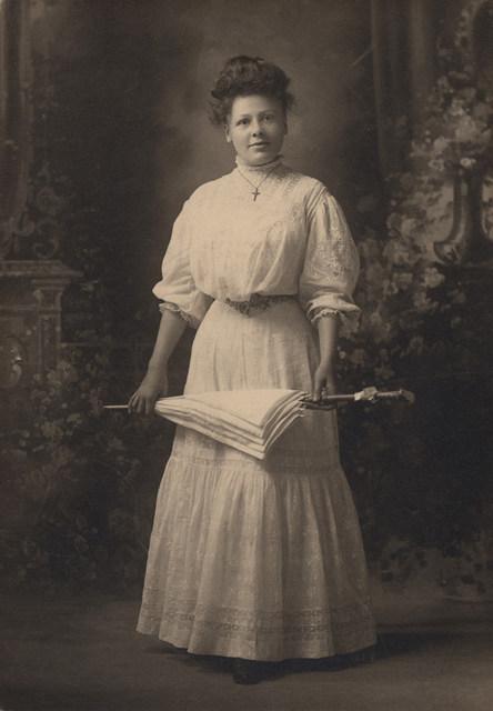 Portrait of Charlotte Maude Green (Langell), date unknown