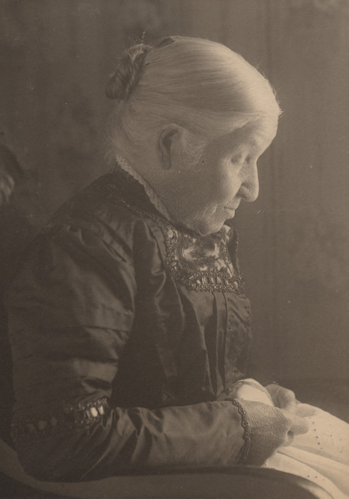 Portrait of Charlotte Sallows Green, date unknown